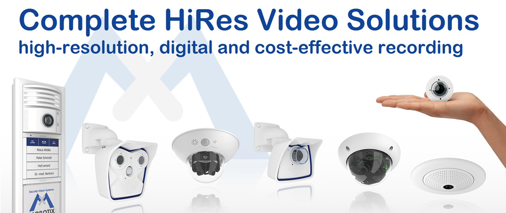 Welcome to MOBOTIX Video Security